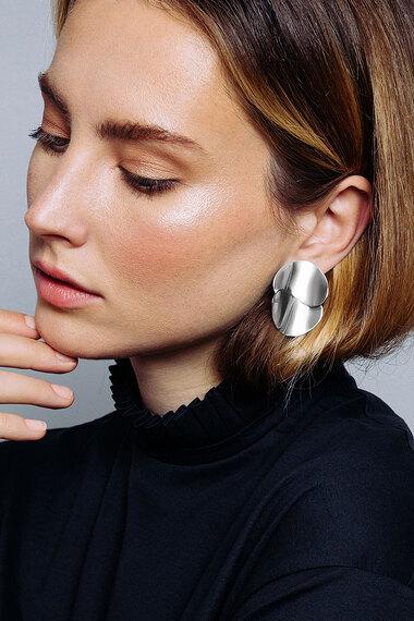 Small Eucalyptus Earrings