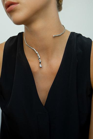 Poem Necklace, 925 Sterling Silver