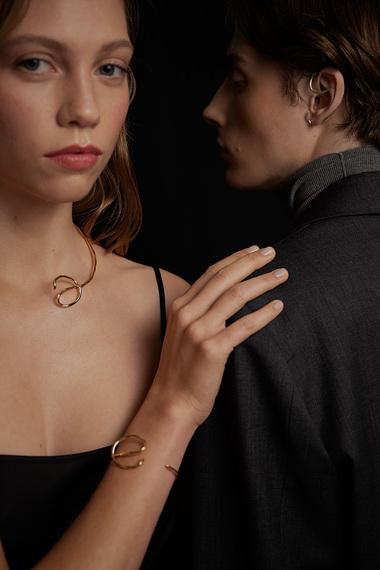 Aino Bracelet, 18K Gold Vermeil