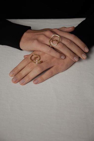 Eli Ring, 18K Gold Vermeil