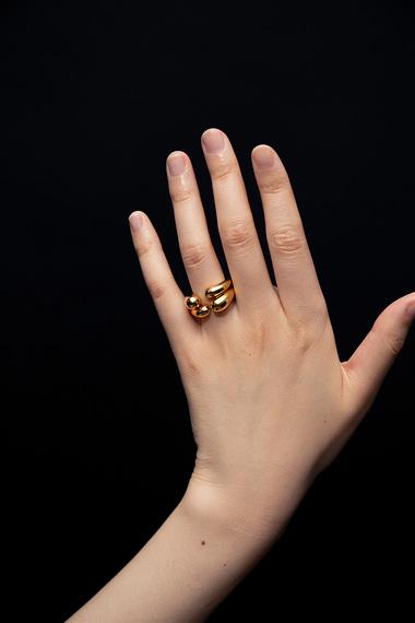 Open Ring, Vermeil